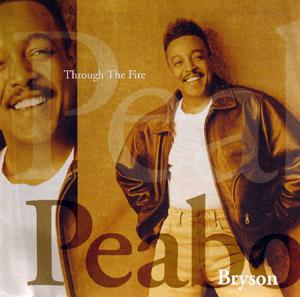 Album  Cover Peabo Bryson - Through The Fire on COLUMBIA Records from 1994
