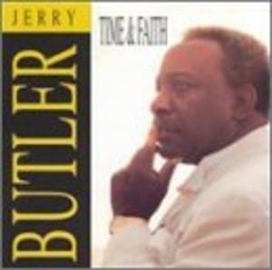 Front Cover Album Jerry Butler - Time & Faith