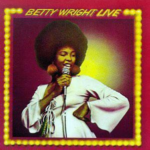 Front Cover Album Betty Wright - Betty Wright Live