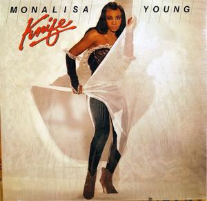 Album  Cover Monalisa Young - Knife on MOTOWN Records from 1983