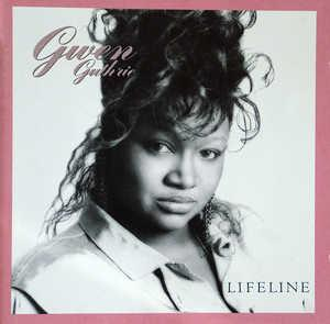 Album  Cover Gwen Guthrie - Lifeline on WARNER BROS. Records from 1988