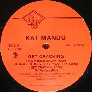 Album  Cover Kat-mandu - Get Crakin' on DEE JAY PRODUCTIONS Records from 1980