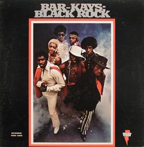Front Cover Album The Bar Kays - Black Rock