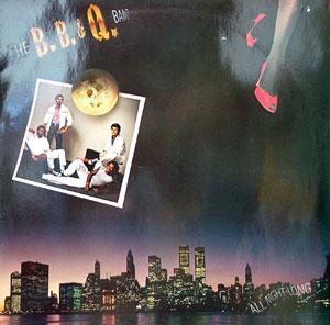 Album  Cover B B & Q Band - All Night Long on CAPITOL Records from 1982