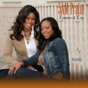 Album  Cover 5am Praise - Testify on BORN AGAIN Records from 2006