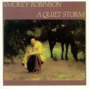 Album  Cover Smokey Robinson - A Quiet Storm on TAMLA Records from 1975