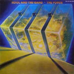 Album  Cover Kool & The Gang - The Force on DE-LITE Records from 1977