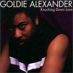 Album  Cover Goldie Alexander - Knocking Down Love on  Records from 1983