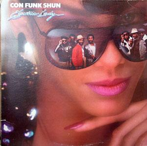 Album  Cover Con Funk Shun - Electric Lady on MERCURY Records from 1985