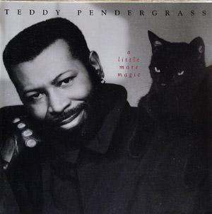 Front Cover Album Teddy Pendergrass - A LITTLE MORE MAGIC