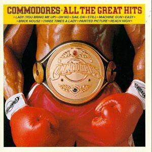 Album  Cover Commodores - All Greatest Hits on MOTOWN Records from 1980