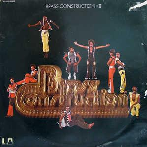 Album  Cover Brass Construction - Brass Construction Ii on UNITED ARTISTS Records from 1976
