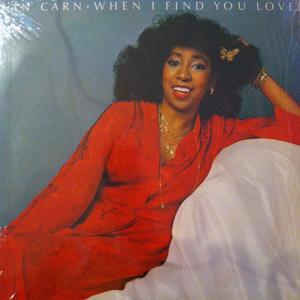 Front Cover Album Jean Carne - When I Find Your Love