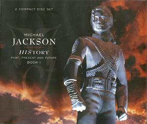 Album  Cover Michael Jackson - History Past, Present & Future, Book 1 on EPIC Records from 1995