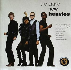 Album  Cover The Brand New Heavies - The Brand New Heavies on FFRR Records from 1991