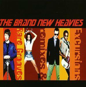 Album  Cover The Brand New Heavies - Excursions: Remixes & Rare Grooves on DELICIOUS VINYL Records from 1996