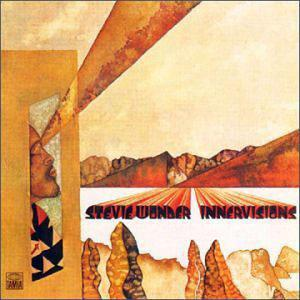 Album  Cover Stevie Wonder - Innervisions on TAMLA Records from 1973