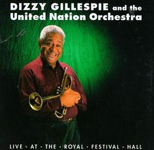 Front Cover Album Dizzy Gillespie - Live at the Royal Festival Hall