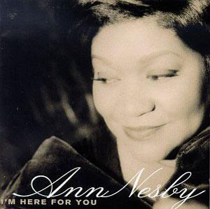 Album  Cover Ann Nesby - I'm Here For You on PERSPECTIVE Records from 1996