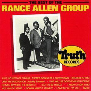 Album  Cover Rance Allen - Best Of The Rance Allen Group on STAX Records from 1988