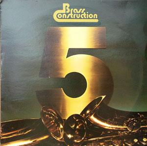 Front Cover Album Brass Construction - Brass Construction 5
