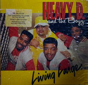 Album  Cover Heavy D & The Boyz - Living Large on UPTOWN Records from 1987