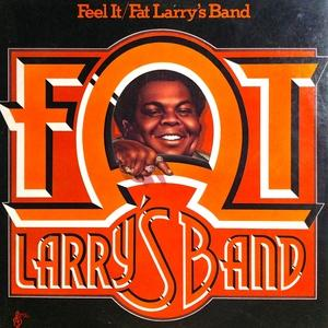 Album  Cover Fat Larry's Band - Feel It on WMOT Records from 1976