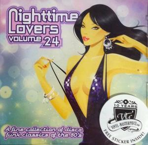Album  Cover Various Artists - Nighttime Lovers Volume 24 on PTG Records from 2015