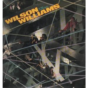 Album  Cover Wilson Williams - Up The Downstairs on ABC Records from 1978