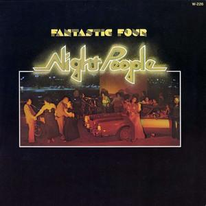 Album  Cover Fantastic Four - Night People on WESTBOUND Records from 1976