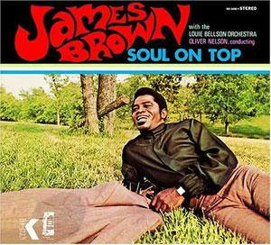 Front Cover Album James Brown - Soul On