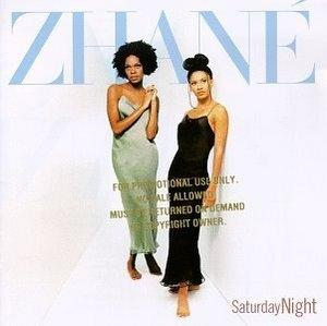 Album  Cover Zhané - Saturday Night on MOTOWN Records from 1997