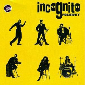Front Cover Album Incognito - Positivity