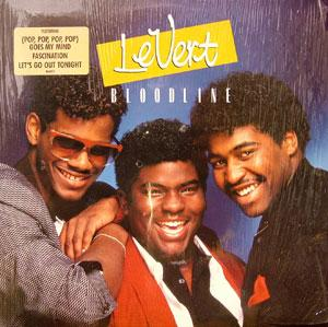 Album  Cover Levert - Bloodline on ATLANTIC Records from 1986