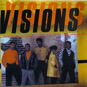 Album  Cover Visions - Visions on POLYDOR Records from 1988