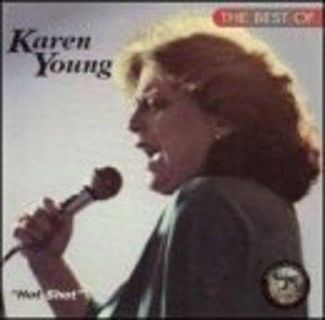 Album  Cover Karen Young - Hot Shot on WEST END Records from 1978