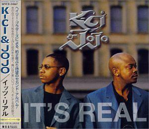 Album  Cover K-ci & Jojo - It's Real on MCA Records from 1999