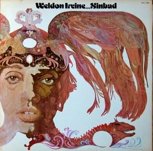 Album  Cover Weldon Irvine - Sinbad on RCA / BMG Records from 1976