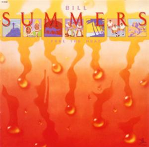 Album  Cover Bill Summers And Summers Heat - Feel The Heat on PRESTIGE (FANTASY) Records from 1977