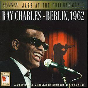Album  Cover Ray Charles - Berlin, 1962 on PABLO Records from 1996