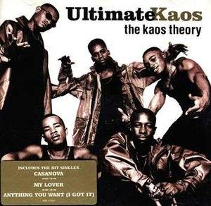 Album  Cover Ultimate Kaos - The Kaos Theory on MERCURY Records from 1996