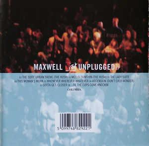Album  Cover Maxwell - Mtv Unplugged on  Records from 1997