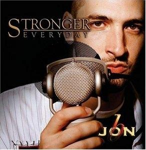 Album  Cover Jon B - Stronger Everyday on SANCTUARY URBAN / E2 Records from 2004