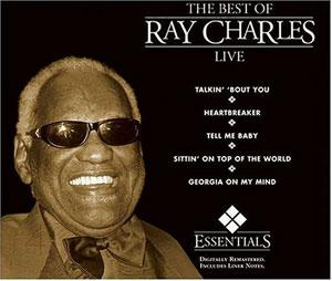 Front Cover Album Ray Charles - Ray Charles Live