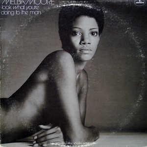 Front Cover Album Melba Moore - Look What You're Doing To The Man