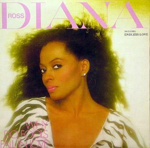 Album  Cover Diana Ross - Ross on RGA Records from 1983