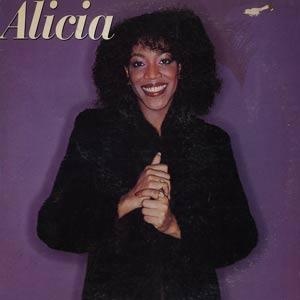 Album  Cover Alicia Myers - Alicia on MCA Records from 1981