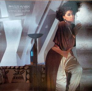Front Cover Album Phyllis Hyman - Living All Alone