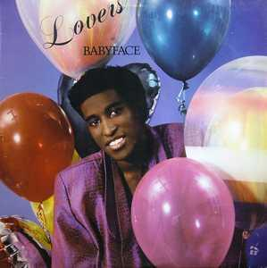 Album  Cover Babyface - Lovers on SOLAR Records from 1987