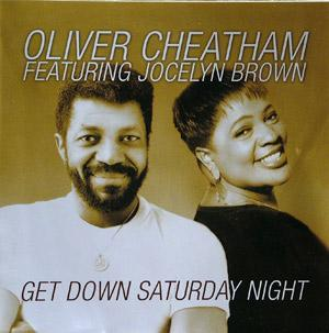 Front Cover Album Oliver Cheatham - Get Down Saturday Night